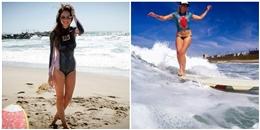 Bạn có tin dàn gái xinh này 'không mặc gì' vẫn vô tư lướt sóng?