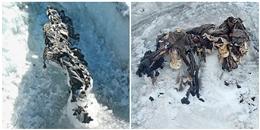 Băng ở dãy Alps tan chảy, hé lộ cảnh tượng kinh hoàng bên dưới