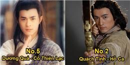Tranh cãi top đại hiệp phim Kim Dung được yêu thích nhất mọi thời đại