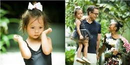 """""""Công chúa lai"""" nhà Đoan Trang lần đầu đóng MV cùng bố mẹ"""