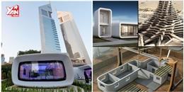 Chiêm ngưỡng kiến trúc 'siêu độc' dùng công nghệ 3D ở Dubai