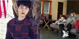 yan.vn - tin sao, ngôi sao - Bị tung ảnh hậu trường mệt mỏi, đây là cách Song Joong Ki