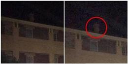 Bắt được bóng trắng bí ẩn trên sân thượng bệnh viện tâm thần