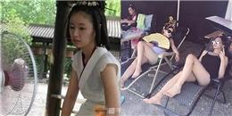 Cười té ghế với hậu trường phim cổ trang Hoa ngữ những ngày nóng