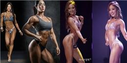 Cận cảnh vóc dáng hoàn hảo của bộ 3 'nữ thần phòng gym' xứ Hàn