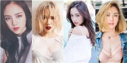 Những màn 'lột xác' hoàn hảo của dàn hot girl Việt chỉ qua mái tóc