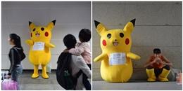 Ẩn sau em Pikachu đáng yêu này, là câu chuyện cảm động về tình phụ tử