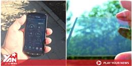 Bạn tin không, chỉ cần đem điện thoại ra phơi nắng là có pin dùng