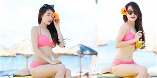 Được Trường Giang cổ vũ, Nhã Phương lần đầu khoe ảnh bikini gợi cảm - Tin sao Viet - Tin tuc sao Viet - Scandal sao Viet - Tin tuc cua Sao - Tin cua Sao