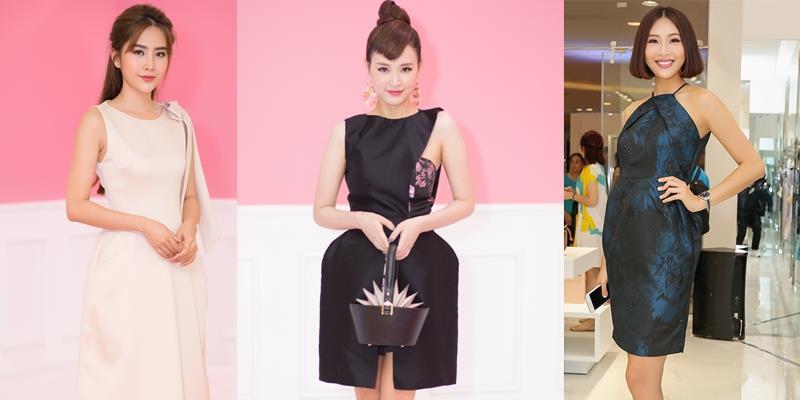 Dàn mỹ nhân đình đám Vbiz đọ sắc với váy áo thanh lịch