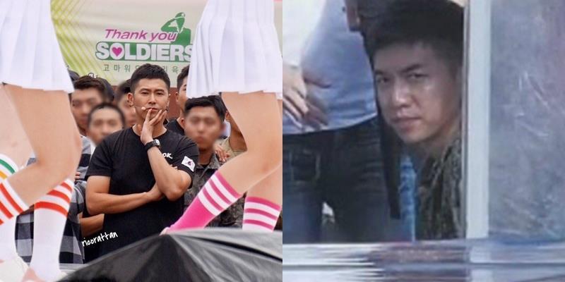 Thích thú hình ảnh đối lập của Yunho và Lee Seung Gi khi gặp idol nữ