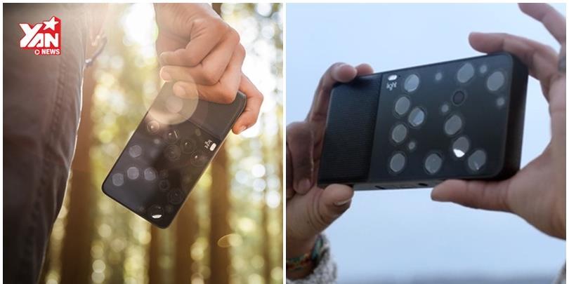 Máy ảnh độc nhất vô nhị trên thế giới, có đến tận 16 ống kính