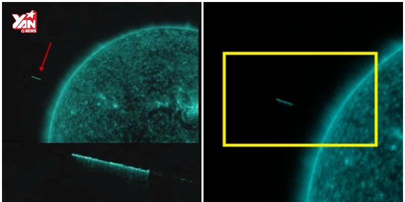 Phát hiện ra tàu của người ngoài hành tinh trên Mặt Trời?