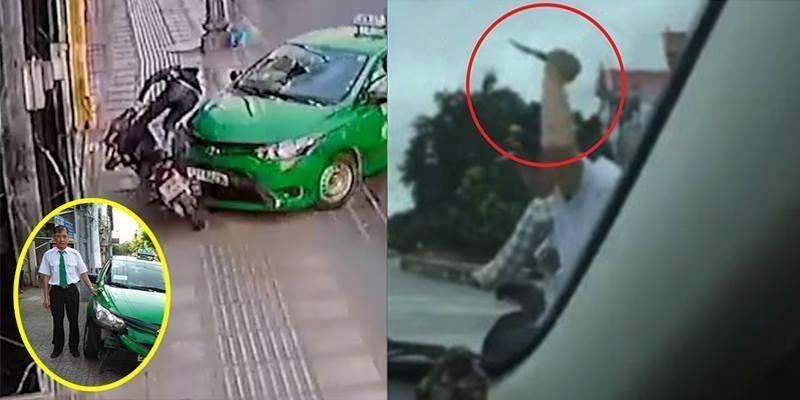 Những pha bắt cướp ngoạn mục của cánh tài xế