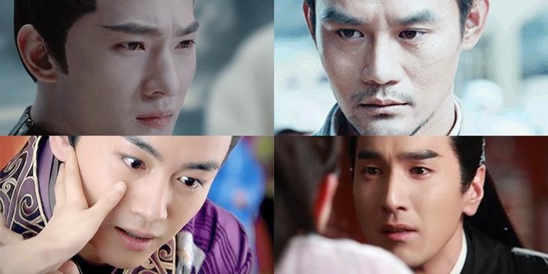 """yan.vn - tin sao, ngôi sao - Nam thần Cbiz và những khoảnh khắc """"đổ lệ"""" hiếm có trên màn ảnh"""