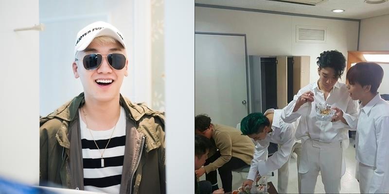 yan.vn - tin sao, ngôi sao - Seungri (Big Bang) bất ngờ tặng phở và gỏi cuốn Việt cho đàn em WINNER