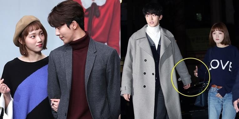 """Thời gian qua, Nam Joo Hyuk và Lee Sung Kyung """"lừa"""" fan thế này đây!"""