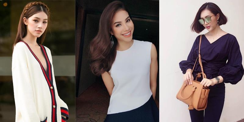 Mỹ nhân Việt đẹp khó rời mắt với trang phục trốn nóng, tránh nắng