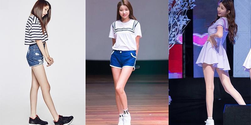 Sowon G-Friend được công nhận là sao nữ có đôi chân dài nhất Kpop