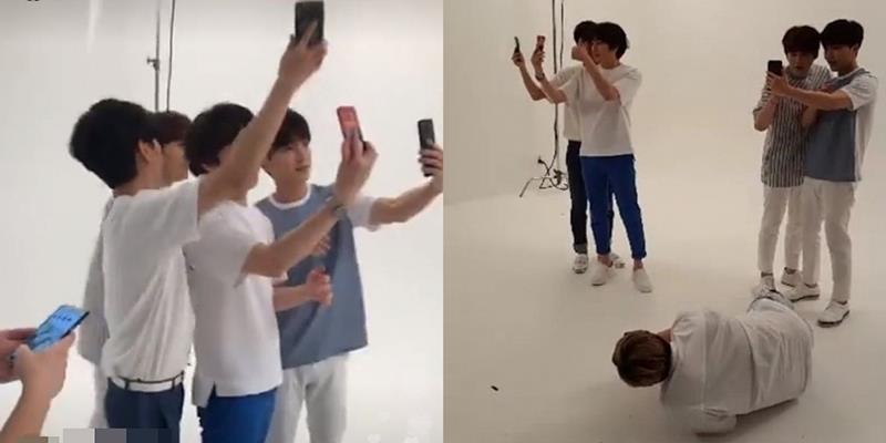 """yan.vn - tin sao, ngôi sao - Đồng loạt livestream cùng lúc, 5 """"mẩu"""" Super Junior khiến fan náo loạn"""