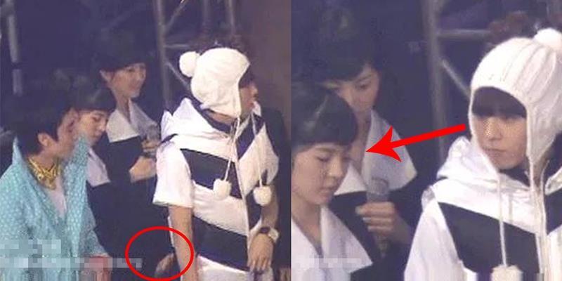 """G-Dragon """"đứng hình"""" khi bị Sunny động chạm vòng 3"""