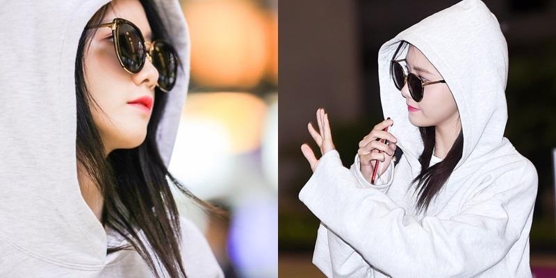 """Trùm kín mặt, Yoona vẫn xinh đẹp, tỏa sáng với đẳng cấp """"nữ thần"""""""