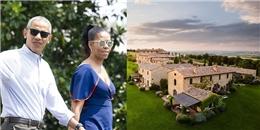 Vợ chồng Obama tận hưởng kỳ nghỉ dưỡng tại ngôi làng 15.200 đô/đêm