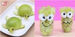 6 mẹo trang trí món ăn cực dễ thương dành tặng các bé