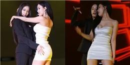 Nhảy Trouble Maker cùng Jiyeon quá sung, Hyomin T-ara bị nghi lộ ngực