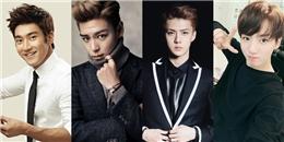 20 nam idol đẹp trai nhất do fan Hàn bình chọn
