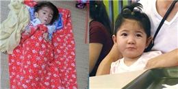 Xúc động em bé Lào Cai nặng 3,5kg ngày nào đón sinh nhật 2 tuổi