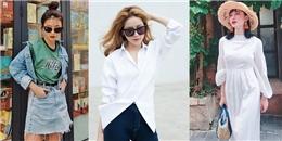 Street style đẹp ngỡ ngàng ngày nắng nóng của mỹ nhân Việt