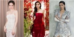 Mê đắm loạt váy áo đẹp lung linh của mỹ nhân Việt tuần qua