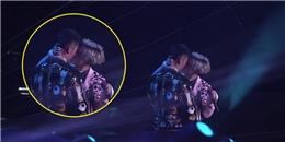 Ngỡ ngàng với cảnh Huỳnh Hiểu Minh bi trai đẹp cưỡng hôn trên sân khấu