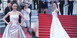 yan.vn - tin sao, ngôi sao - Máy quay của LHP Cannes theo sát Vũ Ngọc Anh hơn 2 phút trên thảm đỏ