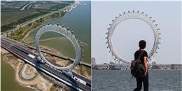 Choáng váng vòng xoay khổng lồ không cần trục đầu tiên trên thế giới