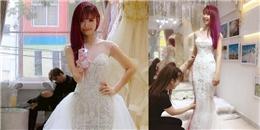 yan.vn - tin sao, ngôi sao - Sau đám hỏi vài ngày, Khởi My đã đi thử váy cưới với Kelvin Khánh