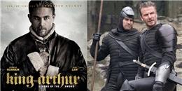 Cho dù Beckham đã hy sinh vẻ đẹp trai nhưng 'King Arthur' vẫn 'xịt'