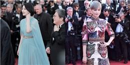 yan.vn - tin sao, ngôi sao - Diện đồ chất lừ, Lý Vũ Xuân vượt mặt Phạm Băng Băng tại thảm đỏ Cannes