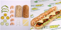 Subway ra mắt hương vị bánh mì mới 'thỏa lòng' những tín đồ hải sản