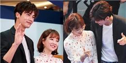 yan.vn - tin sao, ngôi sao - Cặp đôi Bong-Min liên tục liếc mắt đưa tình, dính như sam tại sự kiện