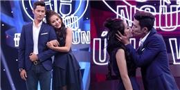 Huy Khánh bất ngờ hôn Nam Thư ngọt ngào trên sóng truyền hình