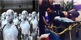 Sốc: kĩ thuật viên bị robot nổi loạn ấn đầu đến chết