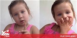 """Chào thua cô bé """"ép"""" bố phải công nhận mình không phải là công chúa"""