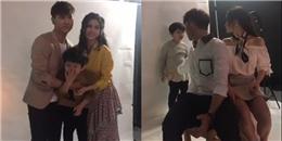 yan.vn - tin sao, ngôi sao - Con trai Tim - Trương Quỳnh Anh la hét, không muốn chụp ảnh cùng bố mẹ