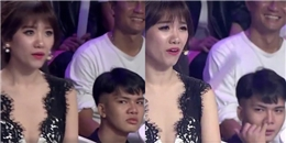 Chàng trai nổi tiếng bất đắc dĩ vì biểu cảm khó hiểu dành cho Hari Won