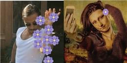'Cười lộn ruột' khi 'thánh' chế ảnh ra sức trổ tài trên bông hoa tím