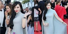 Thêm sao nữ vô danh chen chân lên thảm đỏ Cannes khiến C-net muối mặt