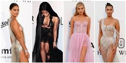 Thảm đỏ gala ở Cannes nóng rực với áo váy sexy của mỹ nhân Hollywood