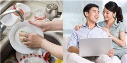 Khoa học chứng minh đàn ông rửa bát giúp vợ dễ thành công sự nghiệp
